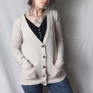 MADEWELL Coffee Shop Cardigan Merino Wool